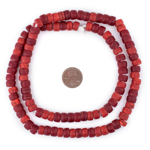 Image of Crimson Red Padre Beads (8mm)