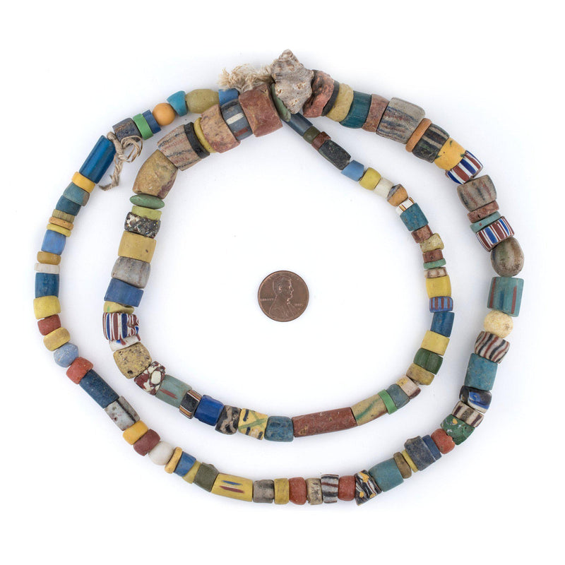 Old Ghana Medley Trade Beads (Large) - The Bead Chest