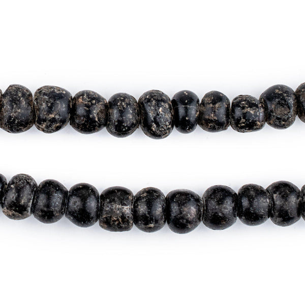 Old Black Padre Beads (8mm)