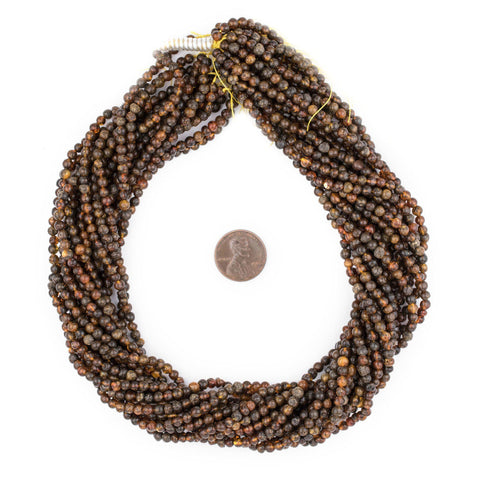 Image of Rustic Natural Amber Beads (4mm) - The Bead Chest