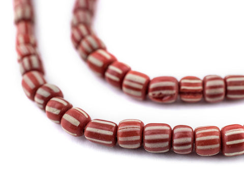 Red Java Gooseberry Beads - The Bead Chest