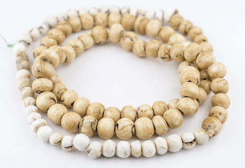 Long Strand Naga Shell Beads (11-15mm) - The Bead Chest