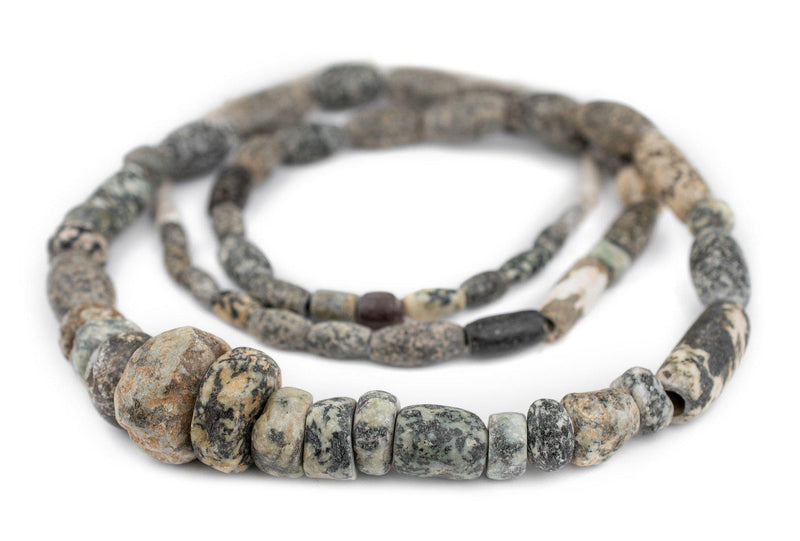 Ancient Mali Granite Stone Beads - The Bead Chest