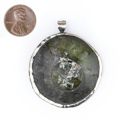 Image of Roman Glass Pendant (40-50mm) - The Bead Chest
