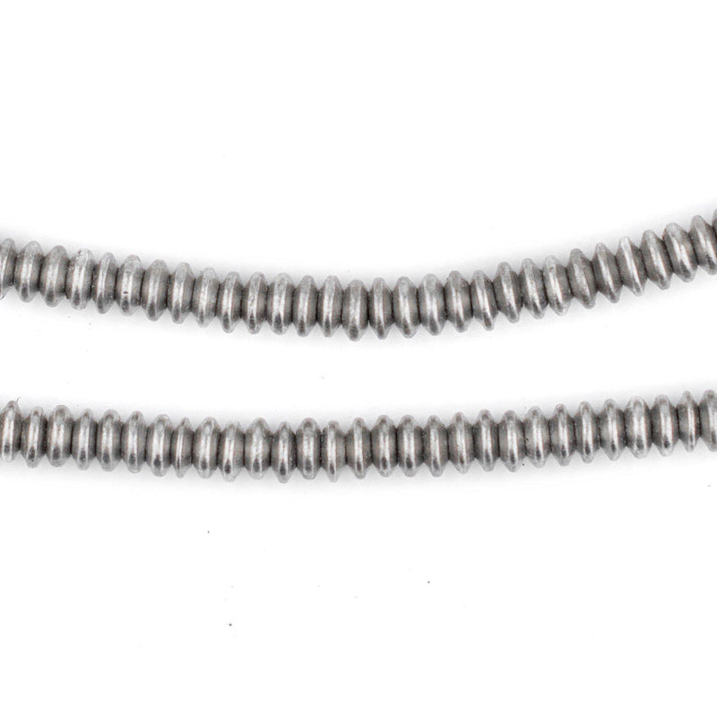 Silver Saucer Beads (5mm) - The Bead Chest