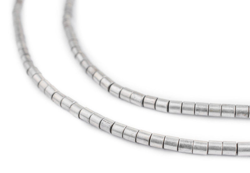 Silver Tube Beads (3mm) - The Bead Chest