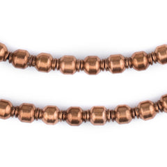 Miniature Copper Prayer Beads (9x7mm)