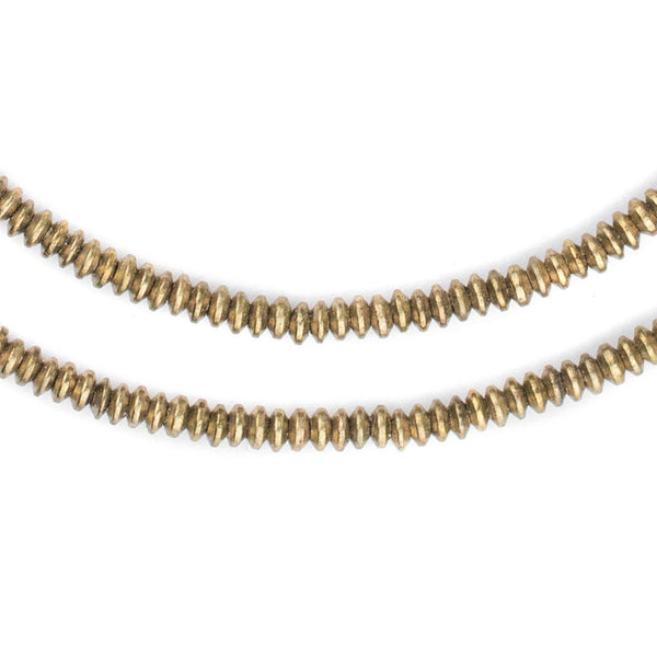 Brass Saucer Beads (4mm) - The Bead Chest