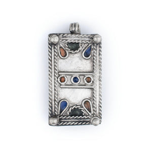 Rectangular Berber Ornament (36 x 19mm) - The Bead Chest