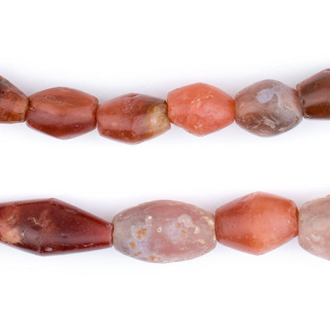 Ancient Mali Carnelian Stone Beads - The Bead Chest