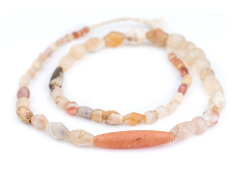 Image of Ancient Mali Quartz & Agate Stone Beads - The Bead Chest