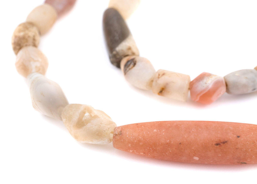 Ancient Mali Quartz & Agate Stone Beads - The Bead Chest