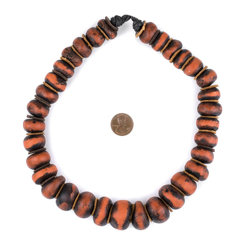 Image of Vintage Style Moroccan Amber Resin Beads - The Bead Chest
