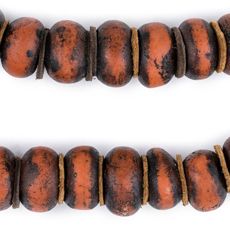 Vintage Style Moroccan Amber Resin Beads - The Bead Chest