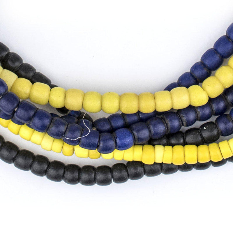 3 Strand Bundle: Vintage African Glass Beads AS SHOWN - The Bead Chest