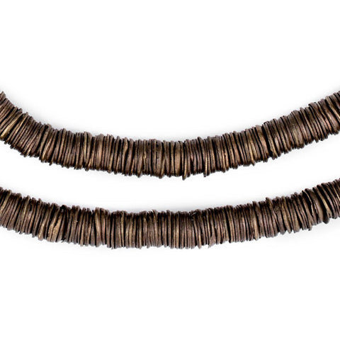 Bronze Interlocking Crisp Beads (6mm) - The Bead Chest