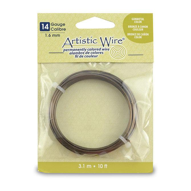 14 Gauge Antique Brass Artistic Wire (10ft) - The Bead Chest
