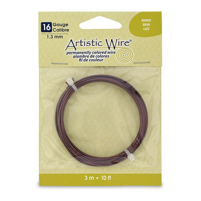 16 Gauge Brown Artistic Wire (10ft) - The Bead Chest