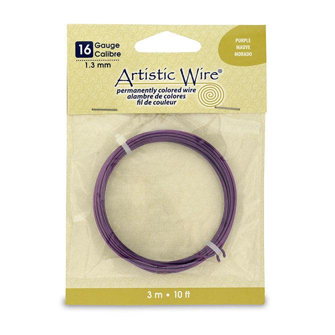 16 Gauge Purple Artistic Wire (10ft) - The Bead Chest