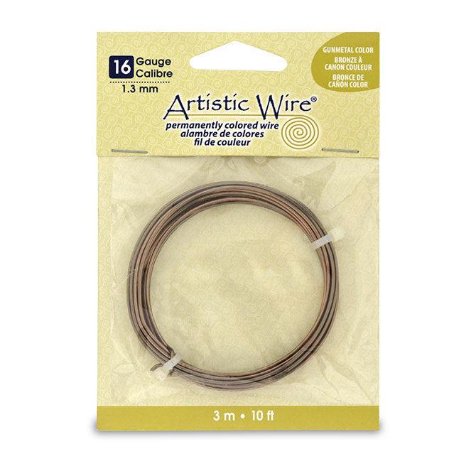 16 Gauge Antique Brass Artistic Wire (10ft) - The Bead Chest