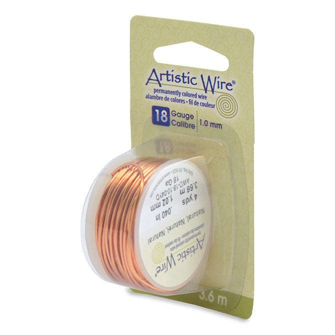 18 Gauge Natural Artistic Wire (12ft) - The Bead Chest