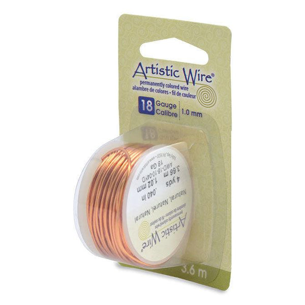 18 Gauge Natural Artistic Wire (12ft)