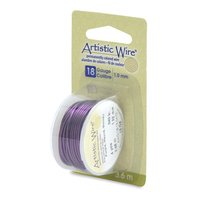 18 Gauge Purple Artistic Wire (12ft) - The Bead Chest