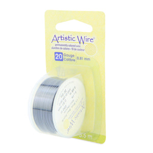 20 Gauge Dark Blue Artistic Wire (18ft) - The Bead Chest