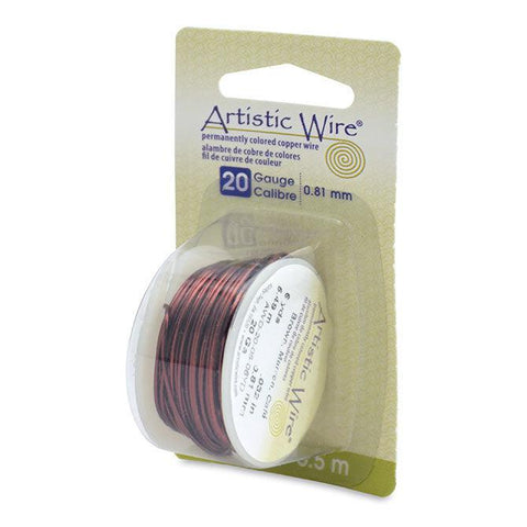 20 Gauge Brown Artistic Wire (18ft) - The Bead Chest