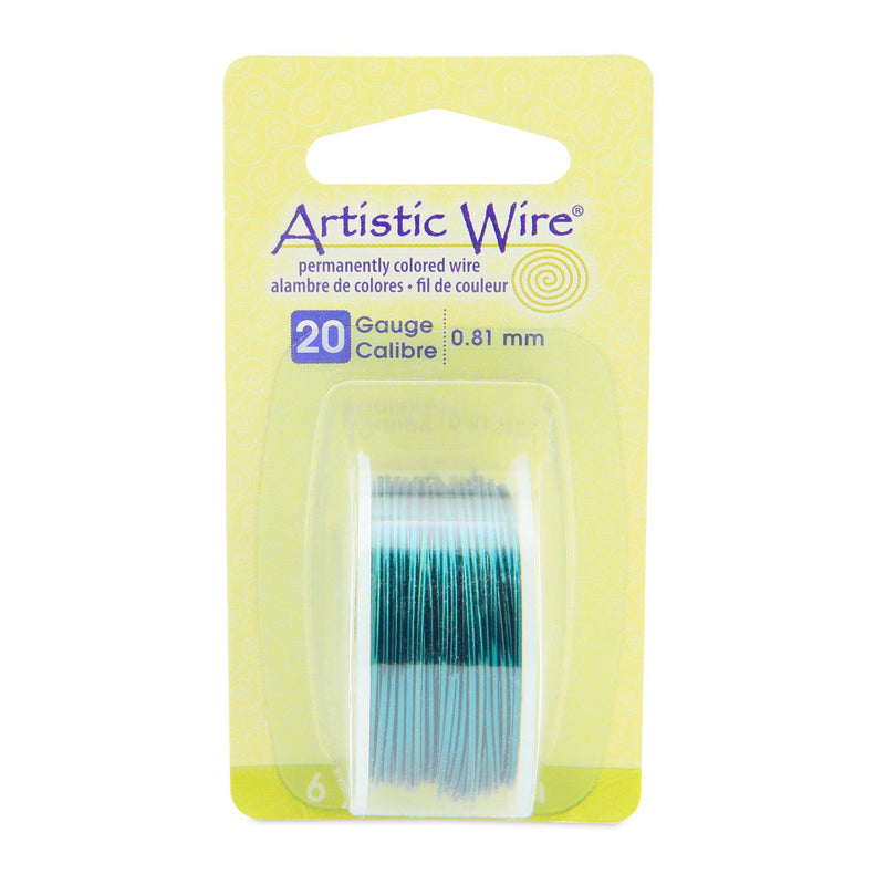 20 Gauge Kelly Green Artistic Wire (18ft) - The Bead Chest