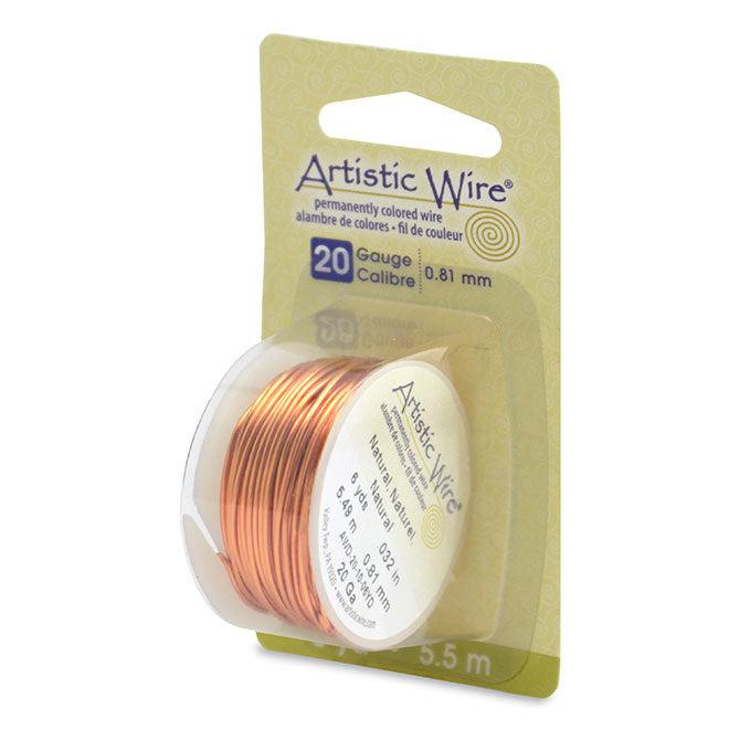 20 Gauge Natural Artistic Wire (18ft) - The Bead Chest