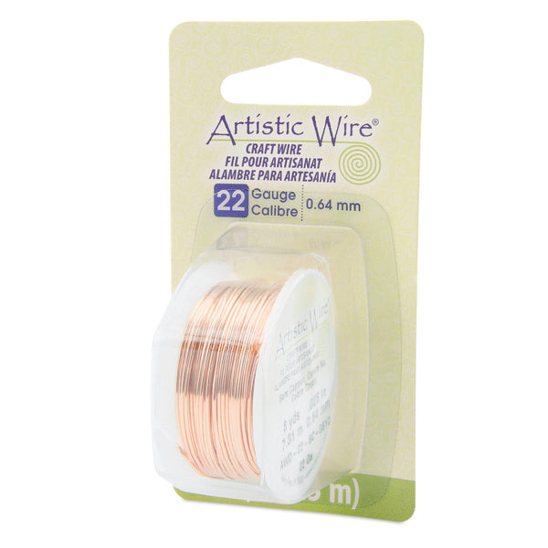 22 Gauge Bare Copper Artistic Wire (24ft) - The Bead Chest