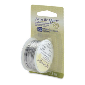 22 Gauge Stainless Steel Artistic Wire (24ft) - The Bead Chest