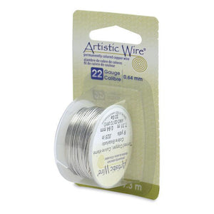 22 Gauge Tinned Copper Artistic Wire (24ft) - The Bead Chest