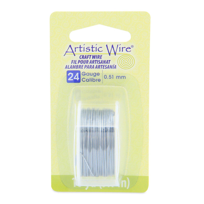 24 Gauge Grey Artistic Wire (30ft) - The Bead Chest