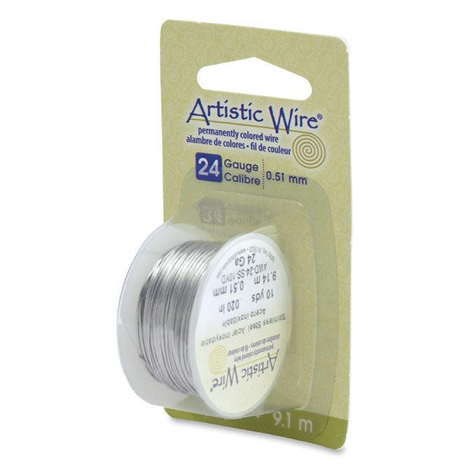 24 Gauge Stainless Steel Artistic Wire (30ft) - The Bead Chest