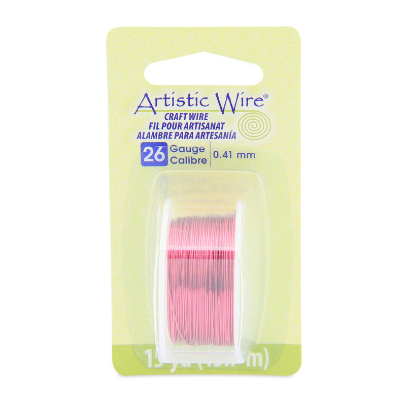 26 Gauge Magenta Artistic Wire (45ft) - The Bead Chest