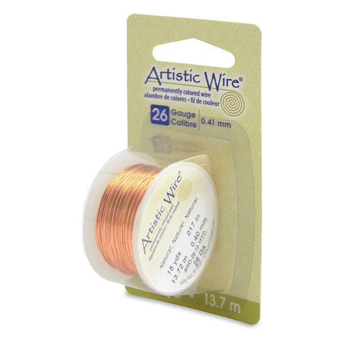 26 Gauge Natural Artistic Wire (45ft) - The Bead Chest