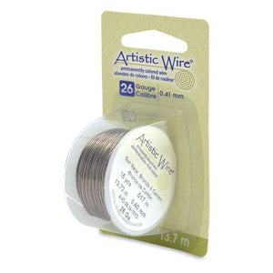 26 Gauge Antique Brass Artistic Wire (45ft) - The Bead Chest