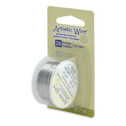26 Gauge Stainless Steel Artistic Wire (45ft) - The Bead Chest