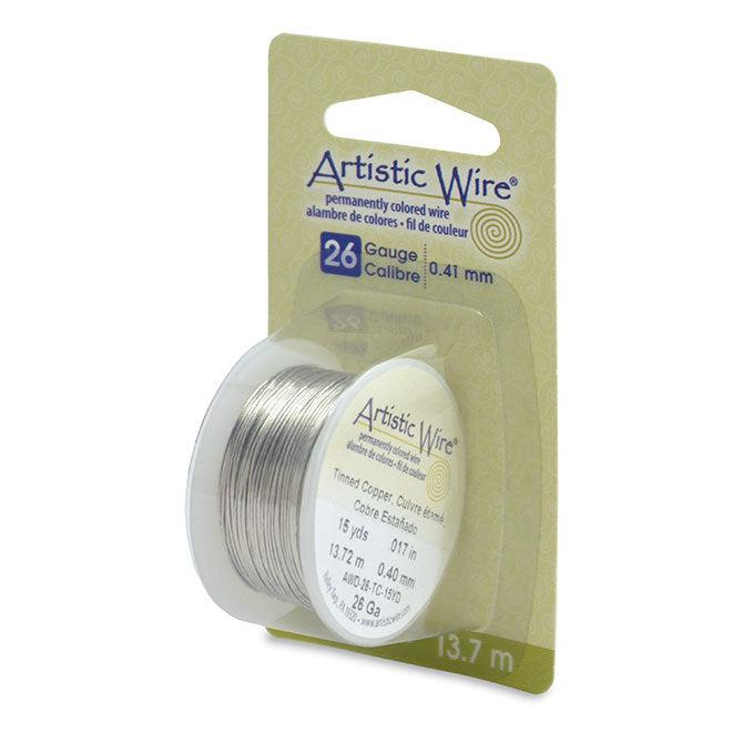 26 Gauge Tinned Copper Artistic Wire (45ft) - The Bead Chest
