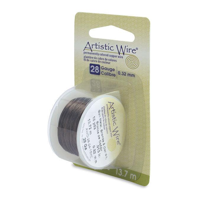 28 Gauge Antique Brass Artistic Wire (45ft) - The Bead Chest