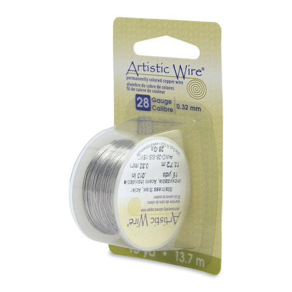 28 Gauge Stainless Steel Artistic Wire (45ft)