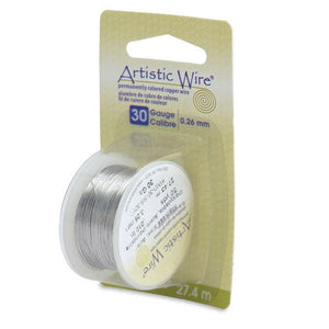30 Gauge Stainless Steel Artistic Wire (90ft) - The Bead Chest