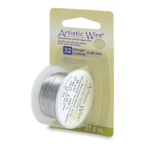 32 Gauge Stainless Steel Artistic Wire (90ft) - The Bead Chest