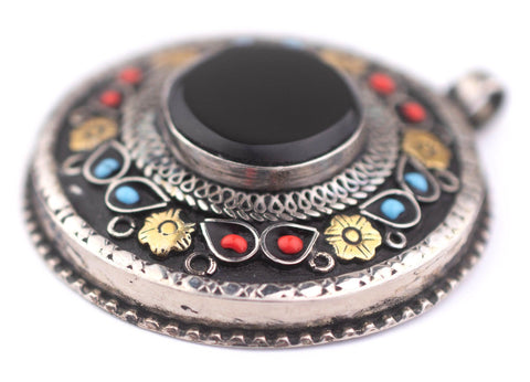 Image of Translucent Dark Green Afghani Tribal Seed Beads - The Bead Chest