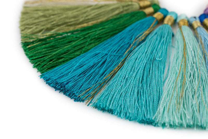 Silk Tassel 6cm Variety Pack (20 Pieces) - The Bead Chest