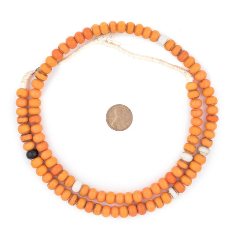 Image of Electric Orange Binta Banji Beads - The Bead Chest