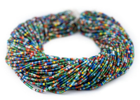 Image of Translucent African Medley Afghani Tribal Seed Beads - The Bead Chest