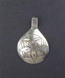 Engraved Moroccan Pendant